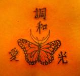 Kanji Butterfly