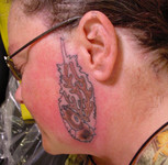 Sideburn Tattoo