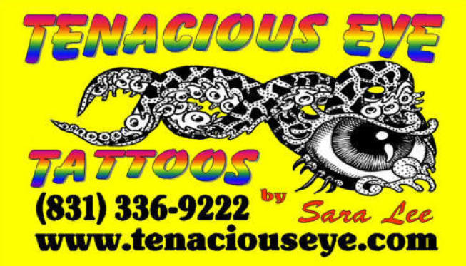 Tenacious Eye Tattooing Logo